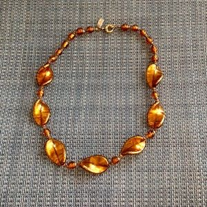 Vintage Hilary London Murano Glass Necklace